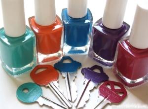 color code your keys