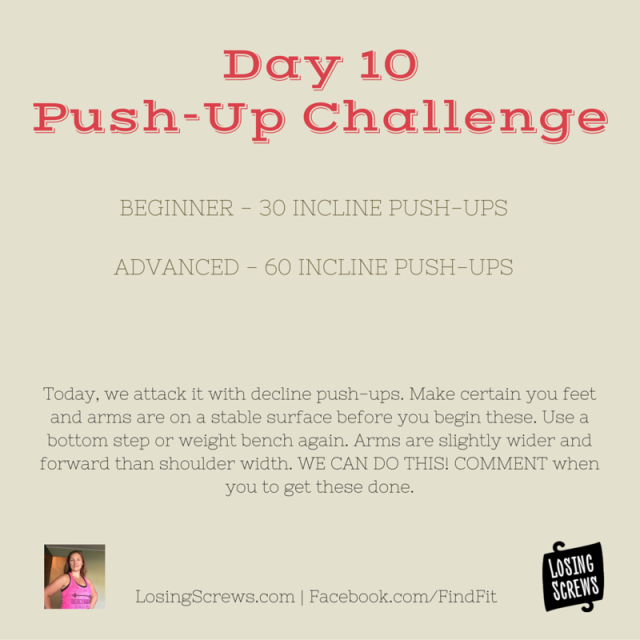 Day 10 Push-Up Challenge