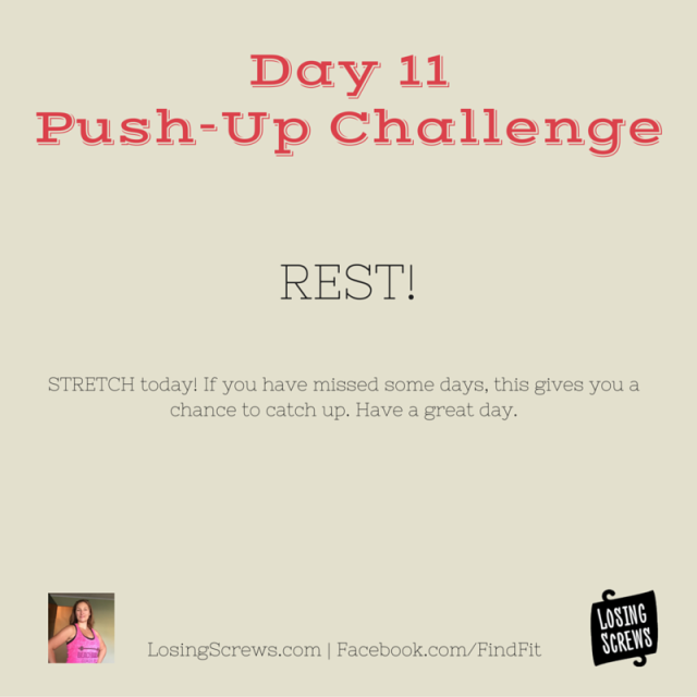 Day 11 Push-Up Challenge