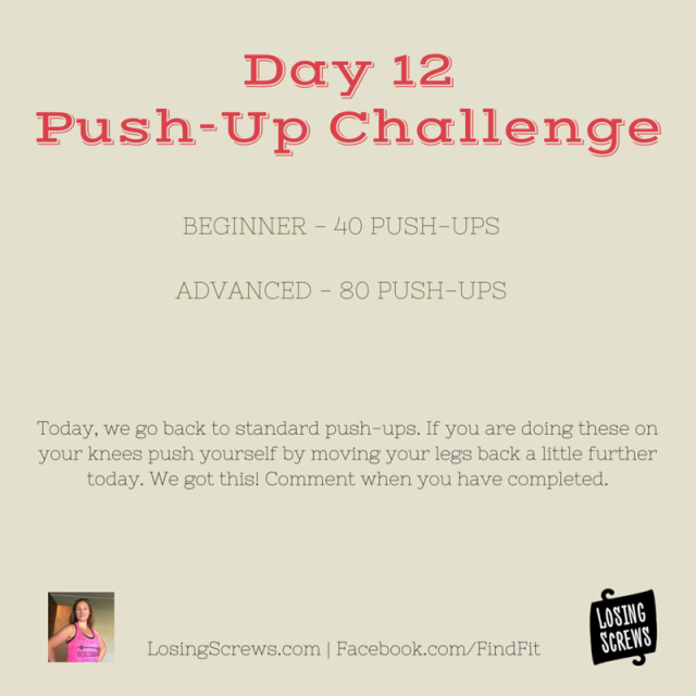 Day 12 Push-Up Challenge