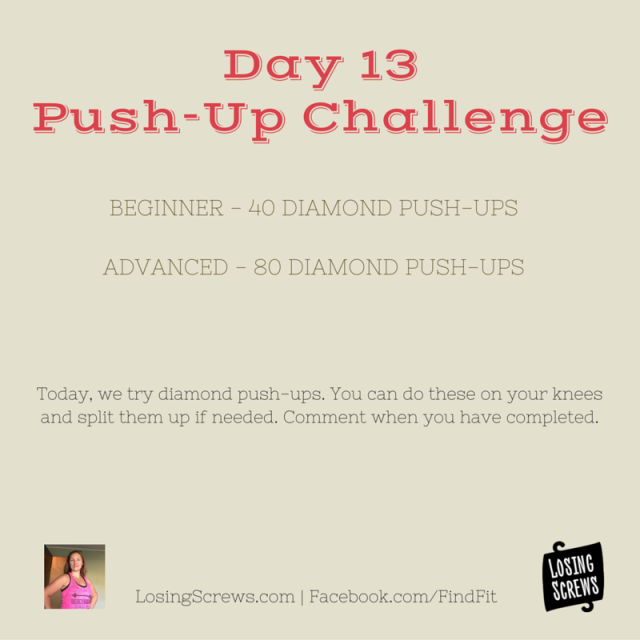 Day 13 Push-Up Challenge