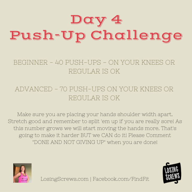 Day 4 Push-Up Challenge(2)
