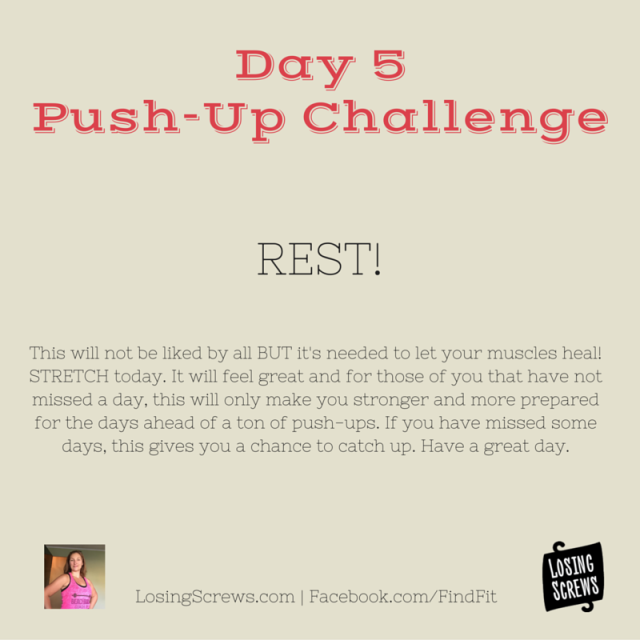 Day 5 Push-Up Challenge