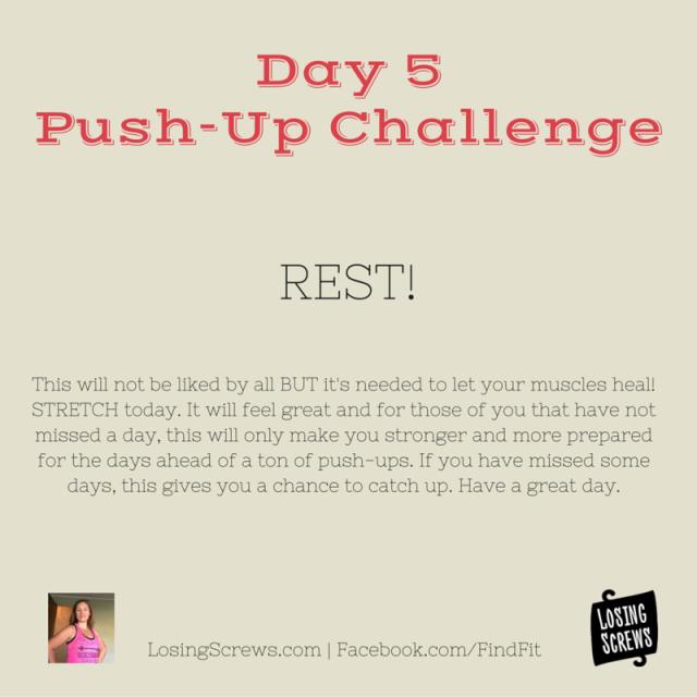 Day 5 Push-Up Challenge