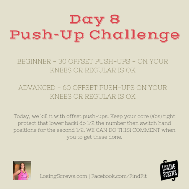 Day 8 Push-Up Challenge