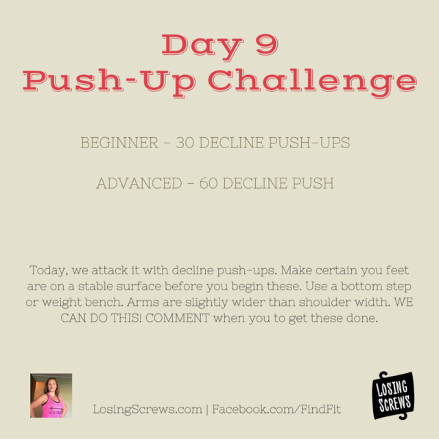 Day 9 Push-Up Challenge