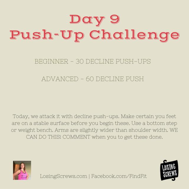 Day 9 Push-Up Challenge